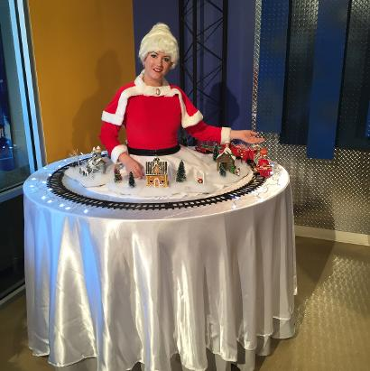 Holiday Theme Mrs. Claus